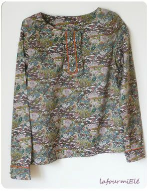 blouse harry james jungle
