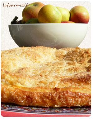 croustade aux pommes caramélisées