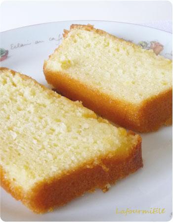Cake au citron Cojean