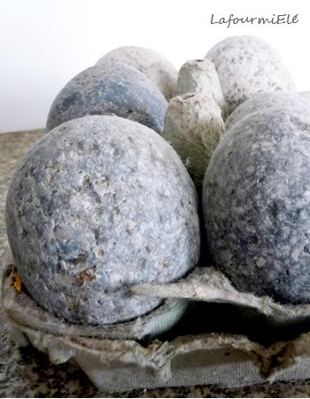 oeufs en granit