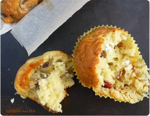 Cake Aux Olives Et Chevres