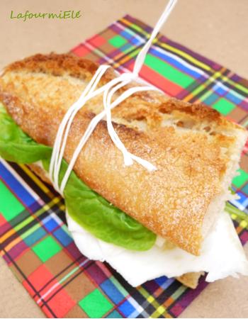 Sandwich céleri rave et bleu