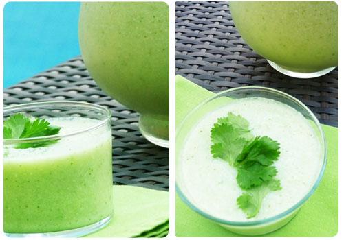 soupe concombre cojean