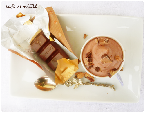 mousse chocolat chantilly speculoos