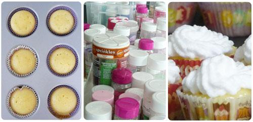 Cupcakes toques et marmitons