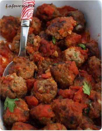 boulettes boeuf tomate