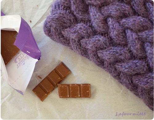 snood nommé désir purple