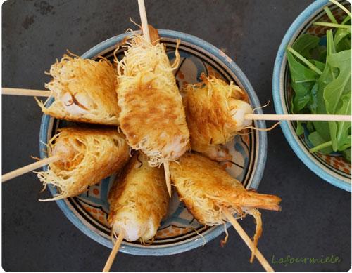 crevette-marinée-kadaif