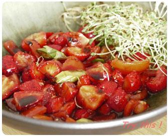 28-Tartare de fraises et tomates