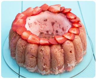 37- Charlotte aux fraises