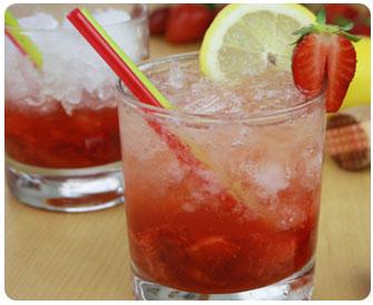 42- Caïpiroska fraise
