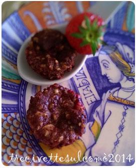 43-Mini muffin fraise et noisettes