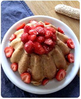52- Charlotte fraises rhubarbe