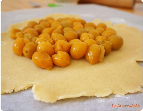 tarte mirabelles amandes1