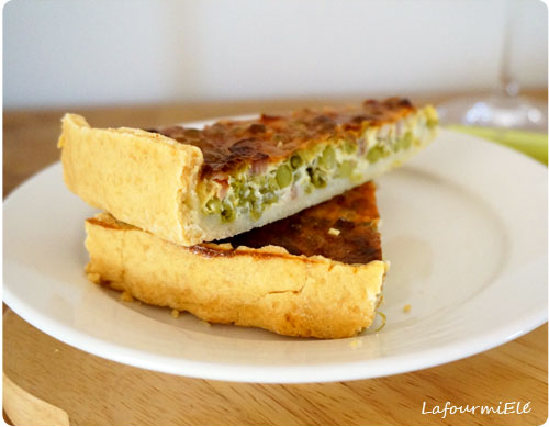 tarte-petits-pois-lardons