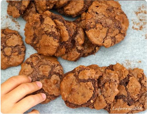puddle cookies tout choco