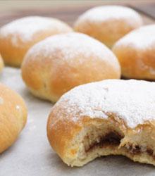beignet au four au nutella