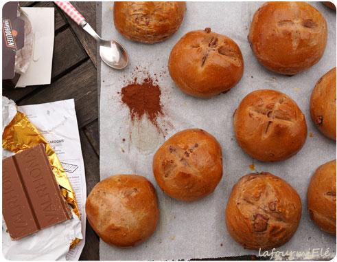 pain au lait au chocolat caramelia