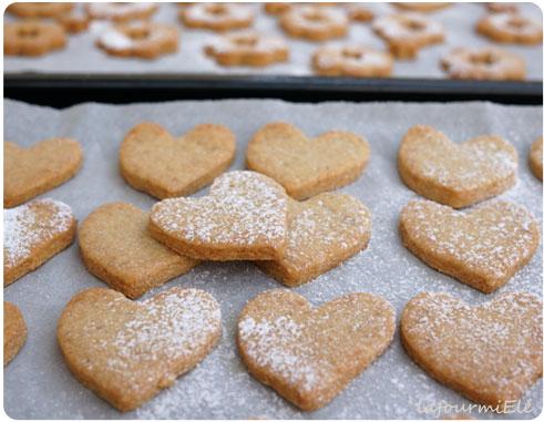 biscuits coeurs à prendre