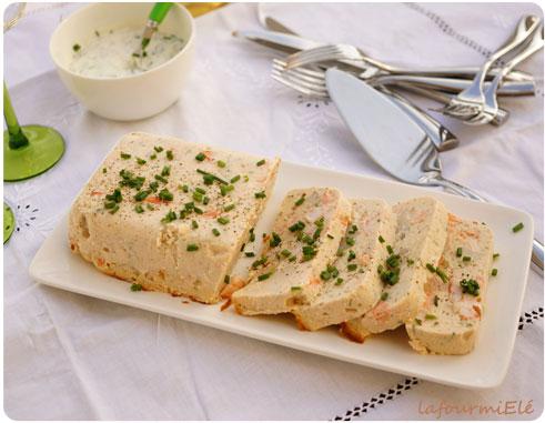 terrine saumon st jacques crevettes