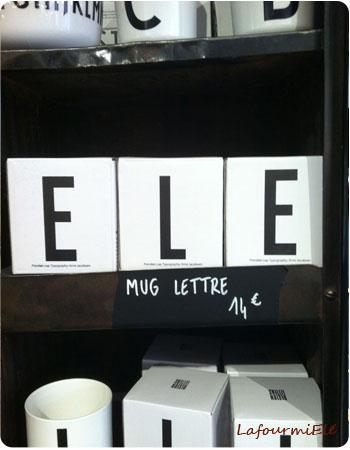 mug lettres merci