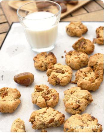 cookies sans sucre pécan mulberries