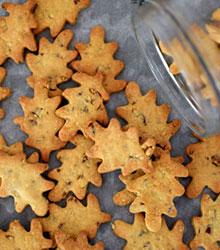 biscuits au sirop d'érable et pécan