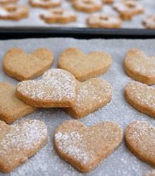 biscuits sablés coeur