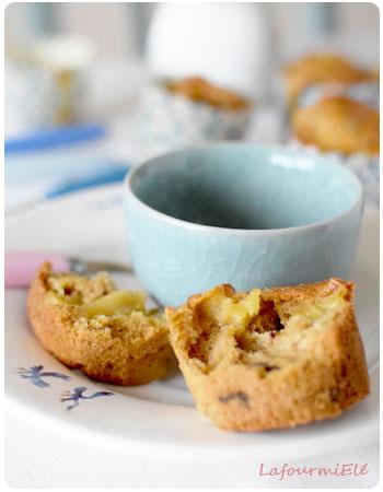 muffin pomme et fruits-secs