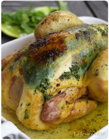 poulet au beurre d'escargot