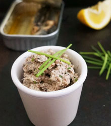 picorette party - rillettes sardines