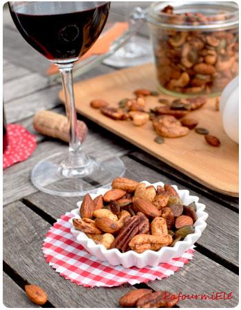 cocktail de noix qui pique à l'apéro