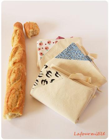 sacs à pain nouveaux trio