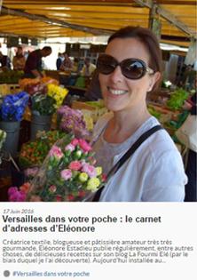 Mes bonnes adresses dans Versailles in my Pocket