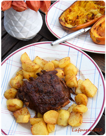 agneau-confit-patate-et-courge-roties