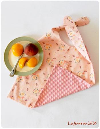 du nouveau - serviettes à nouettes melon