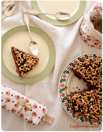 victoria sponge cake au chocolat et abricot