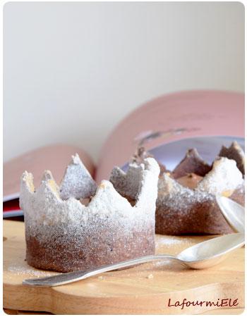 Mousse au chocolat qui en fait une montagne