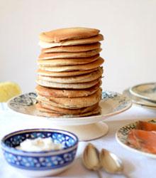 Des recettes pour les fêtes - blinis sarrasin