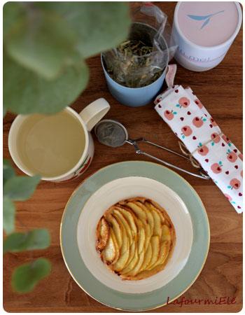 tartes fines aux pommes