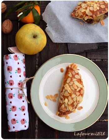 Chaussons aux pommes et raisins