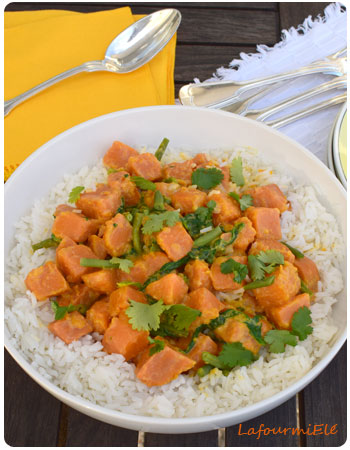 curry de patate de douce