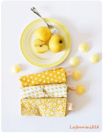 serviettes-jaunes