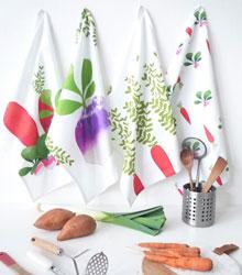 carnet de shopping #6 torchons légumes
