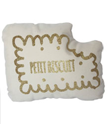carnet de shopping #6 coussin biscuit