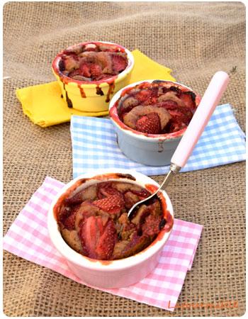 Cobblers à la fraise
