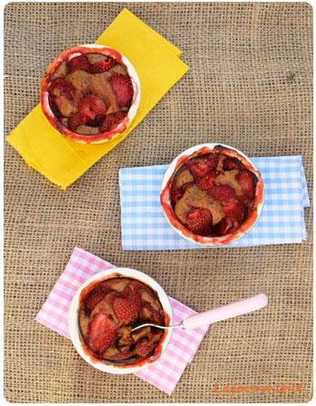 cobbler à la fraise