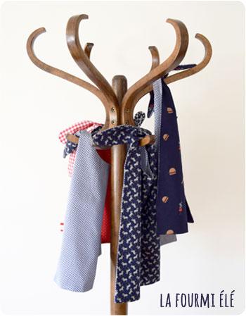 nouvelle petite collection serviettes à nouettes