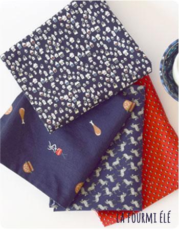 nouvelle petite collection assortiments serviettes à nouettes garçons et mixtes