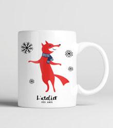 carnet-de-shopping-#8 etsy noel mug renard